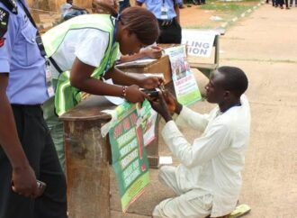 Edo: INEC deploys glasses, braille ballots for visually impaired voters