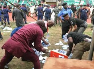 Edo election: INEC rejects results from 'Omo-Agege supporters'