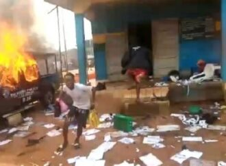 Hoodlums ground protest in Edo, break into Oko prisons, free criminals, vandalize four police stations