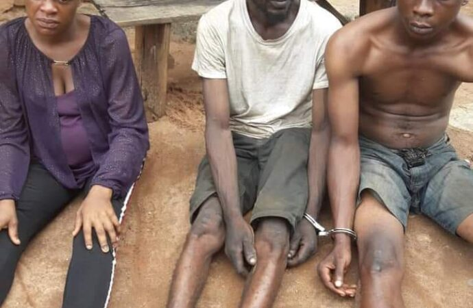 Police arrest pregnant Lady car snatcher, two accomplices in Edo