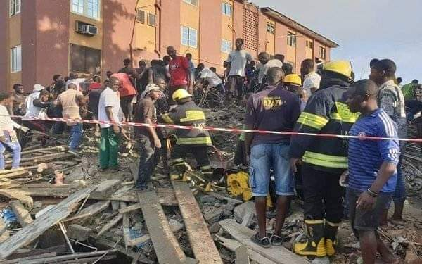 4 dead, 8 rescued — LASEMA reacts to Lagos building collapse