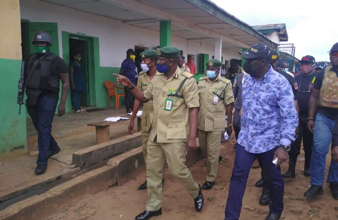 Delay in military deployment cause Edo jail break — Obaseki issues 48hrs ultimatum to fleeing inmates