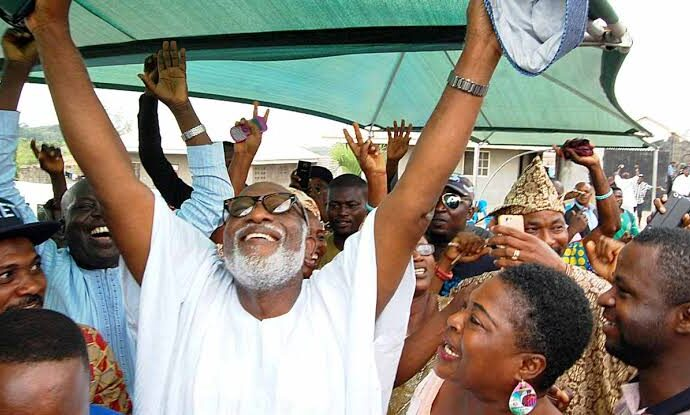 Akeredolu coasts to victory in Ondo election