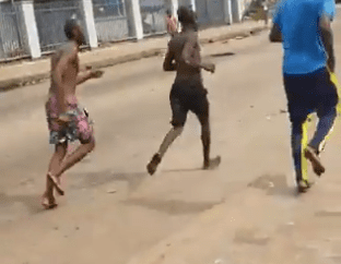 Hoodlums hold reception party for fleeing gang members from Benin prisons