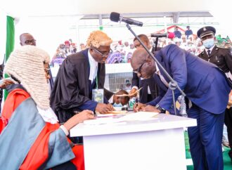 [PHOTOS] My re-election restores confidence in democracy — Obaseki vows to deepen reforms
