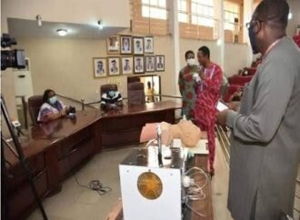 UNIBEN hand sanitiser machine, ventilator get SON approval