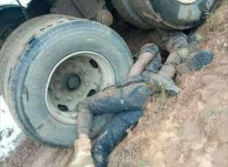 Construction truck crushes two workers to death in Edo
