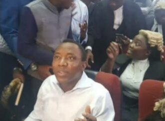 Protest over Sowore's arrest at venue of Nnamdi Kanu's trial