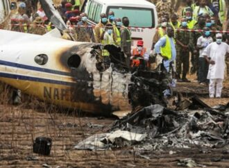 Buhari mourns with families of ill-fated plane crash in Abuja