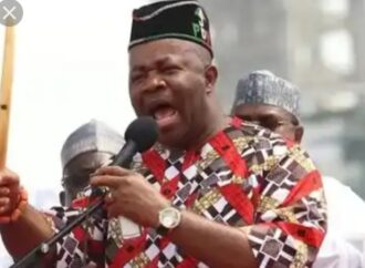 Akpabio disowns professor jailed for rigging election in his favour