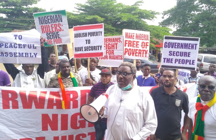 How Edo govt agents attacked ex- attorney general-led rally, amidst calls for disbandment of PUWOV