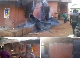 Angry youths raze four houses in Edo reprisal attack…     mother of eight, others missing