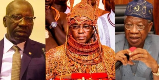FG accepts Benin monarch's request to take custody of artefacts