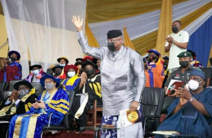 Nigerians stage walkout as Omo-Agege speaks on electoral reforms